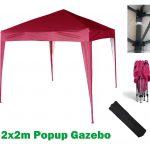 Red MCC Home Gazebo