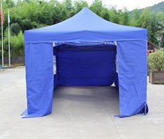 All Seasons gazebo at 6 x 3m blue 2