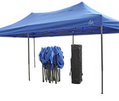 All Seasons gazebo at 6 x 3m blue 3