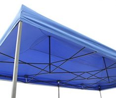 All Seasons gazebo at 6 x 3m blue 4