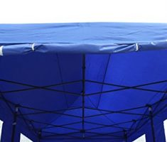 All Seasons gazebo at 6 x 3m blue 5