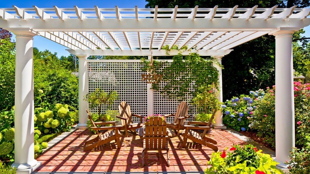 4 Best Retractable Roof Pergolas To Enhance Your Garden 2019