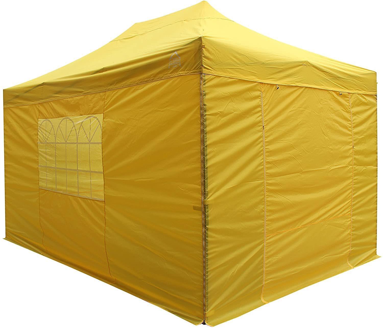 waterproof gazebo yellow