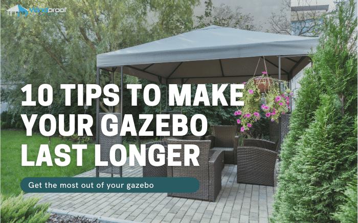 windproof gazebo tips