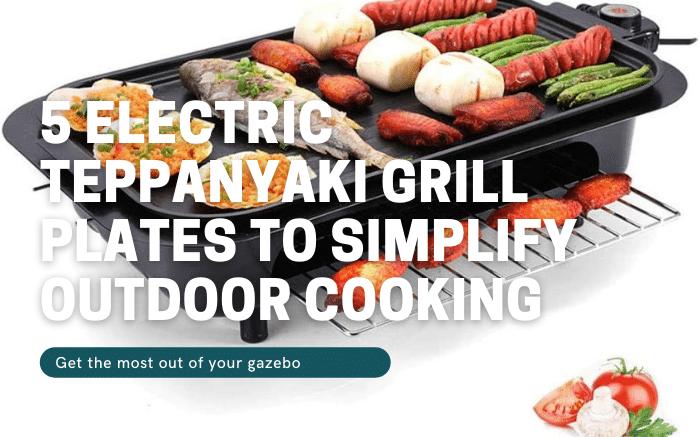 Electric Teppanyaki Grill Plates
