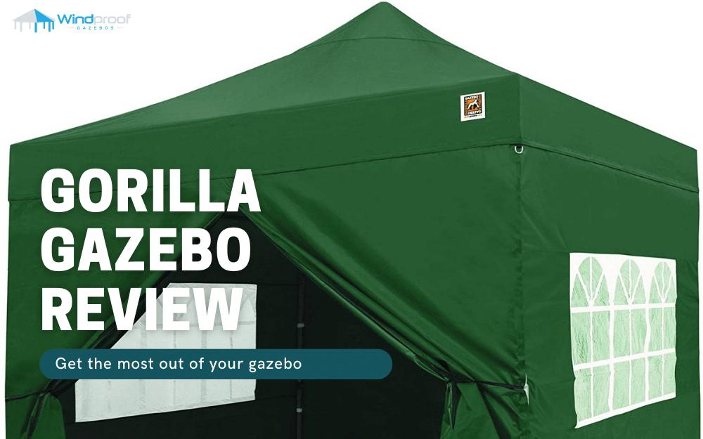 gorilla gazebo review