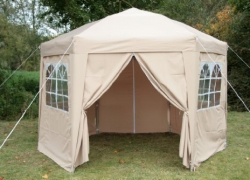 Airwave Hexagon Gazebo 3.5m