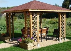 4 DIY Wood Gazebo Kits Perfect for your Garden
